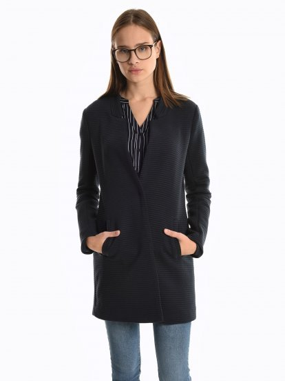 Structured coat