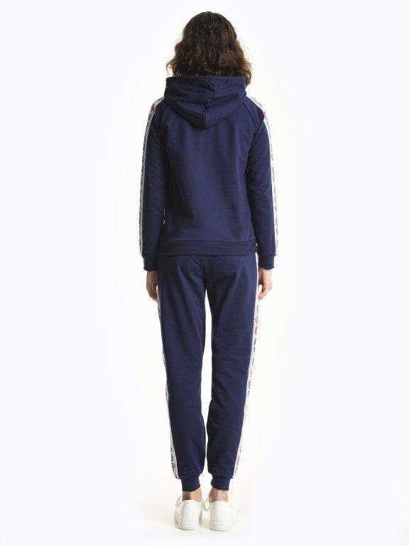 Taped hoodie