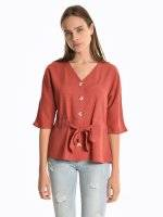 Loose fit blouse
