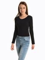 Basic long sleeve bodysuit