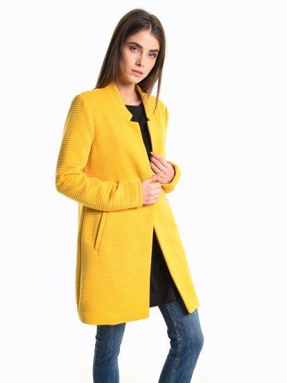 Structured coat