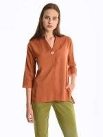 Regular fit blouse