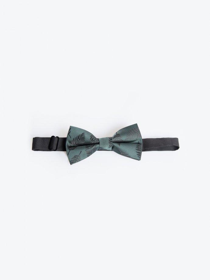 Floral print bow tie