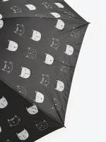 Cat print umbrella