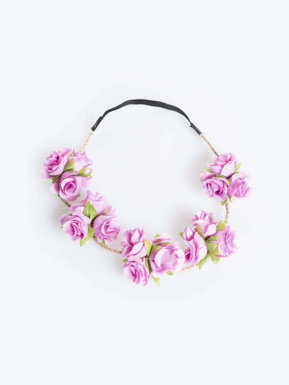 Čelenka s kvetinami