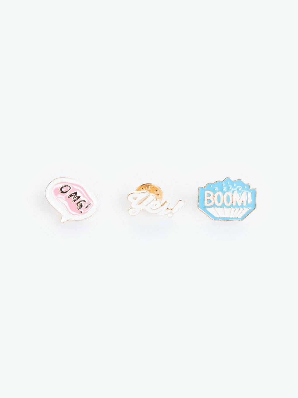Set of 3 badges