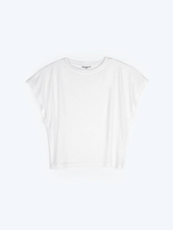 Jednoduché tričko volného střihu