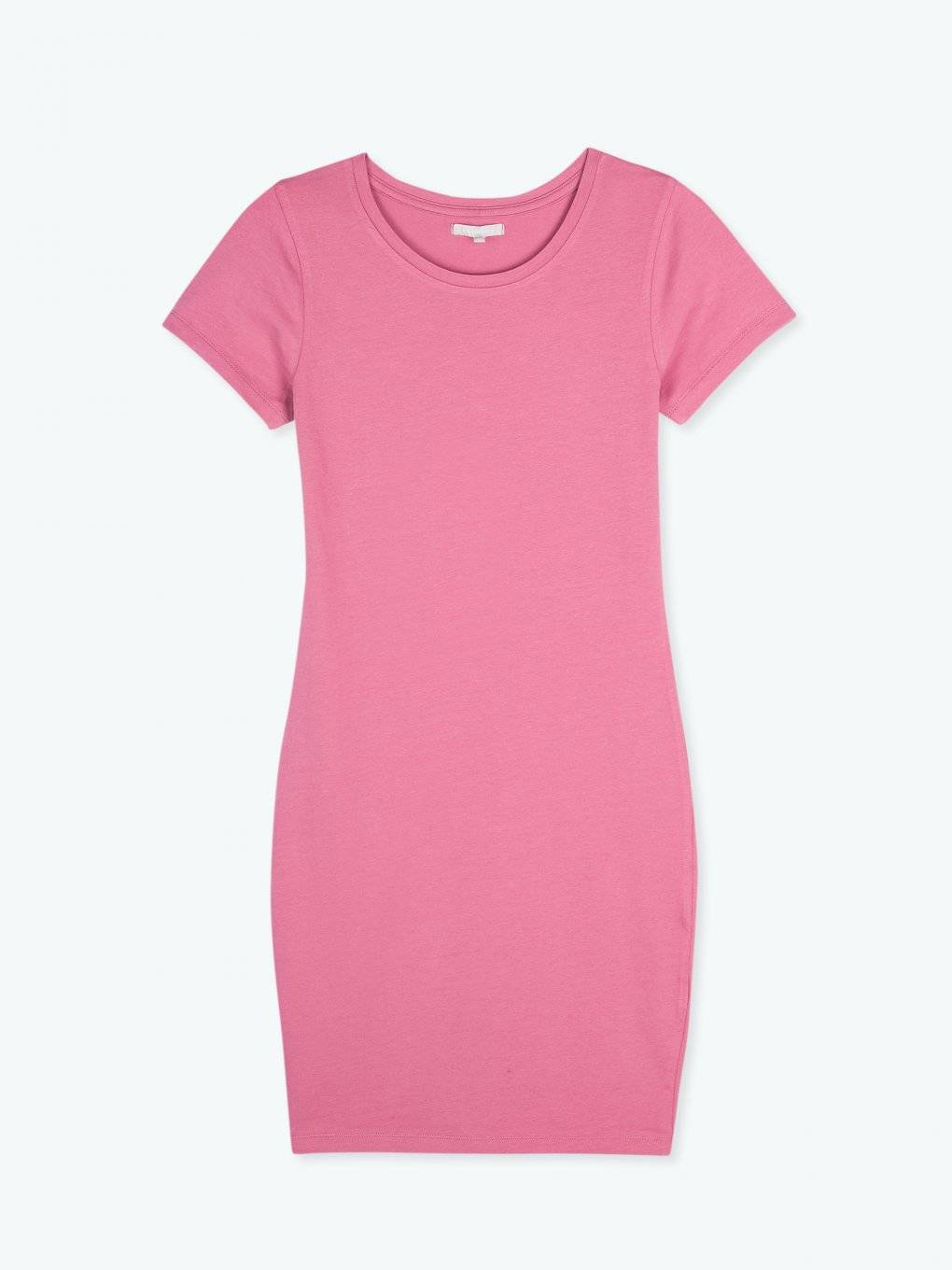 Basic stretch jersey dress