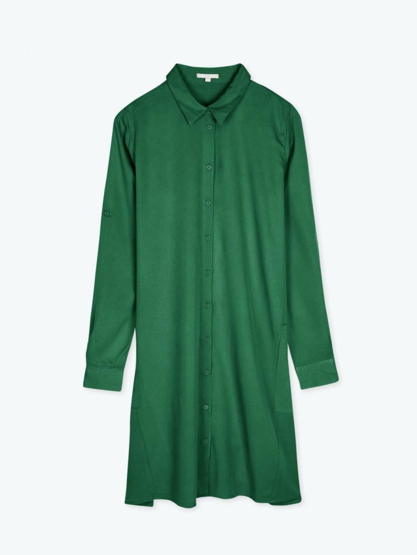 Dlhá jednofarebná košeľa