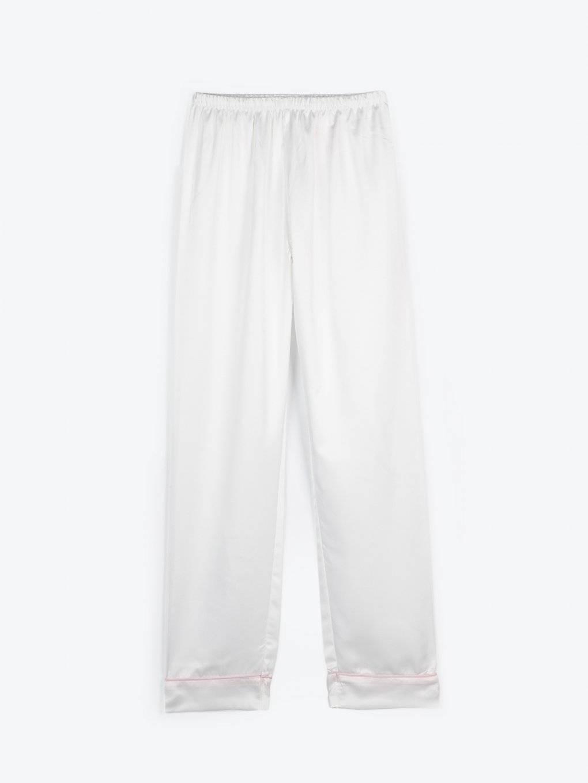 Saténové pyžamové nohavice
