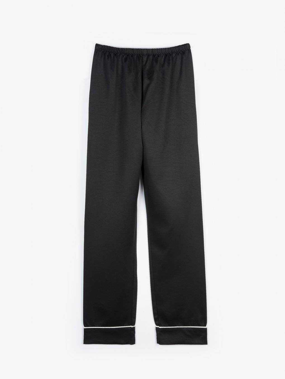 Satin pyjama pants