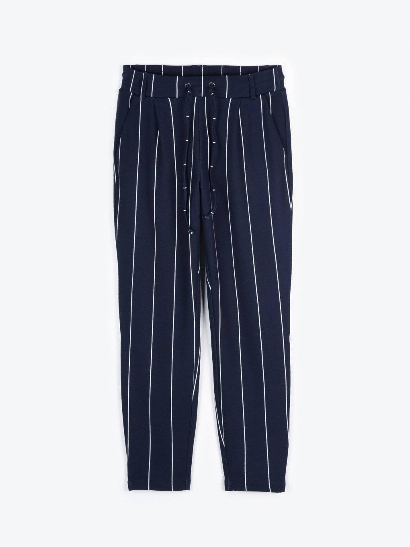 Striped jogger fit pants
