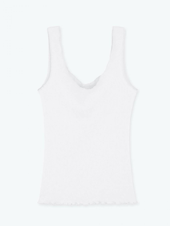 Basic ribbed tank top