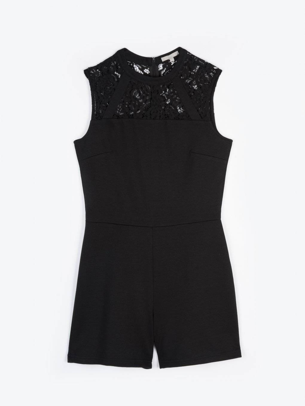 Jumpsuit with lace