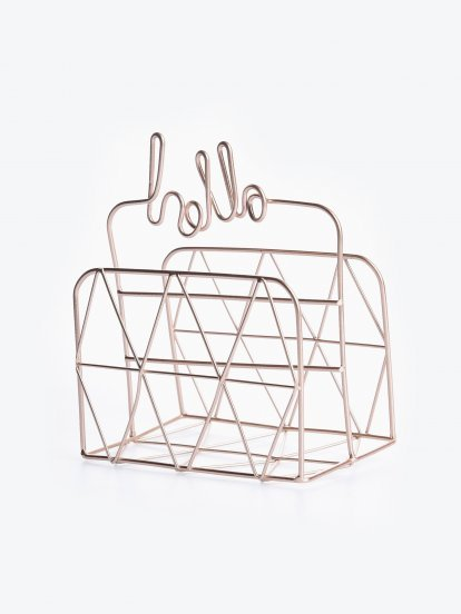 Decorative organiser