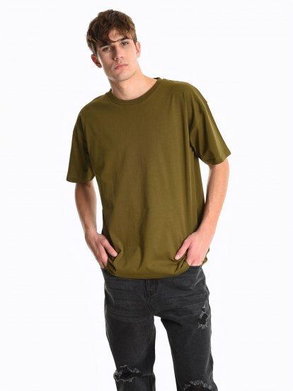 Koszulka o luźnym kroju