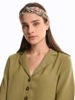 Top twist headdress