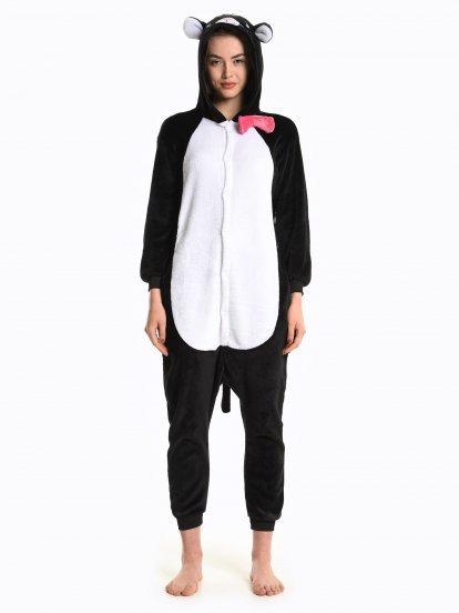 Comfy cat jumpsuit