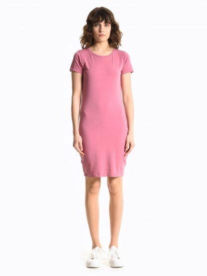 Základné džersejové strečové šaty