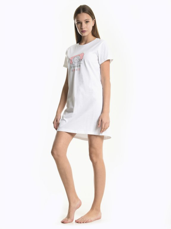 Printed nightwear