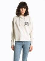 Hoodie with chain string