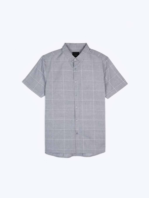 Kockovaná košeľa regular fit