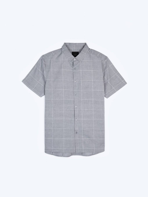 Plaid regular fit shirt
