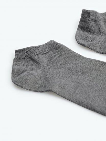 Sada troch párov členkových bambusových ponožiek