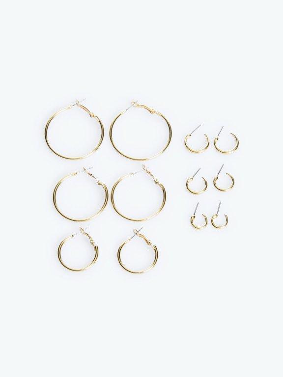 6-pack earrings set