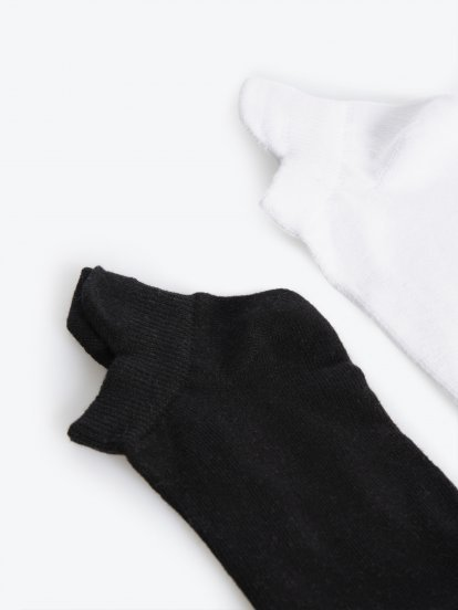 2-pack ankle socks