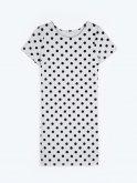 Polka dot print dress