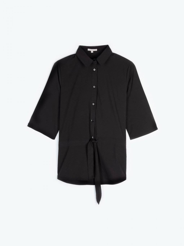 Luźna bluzka z paskiem