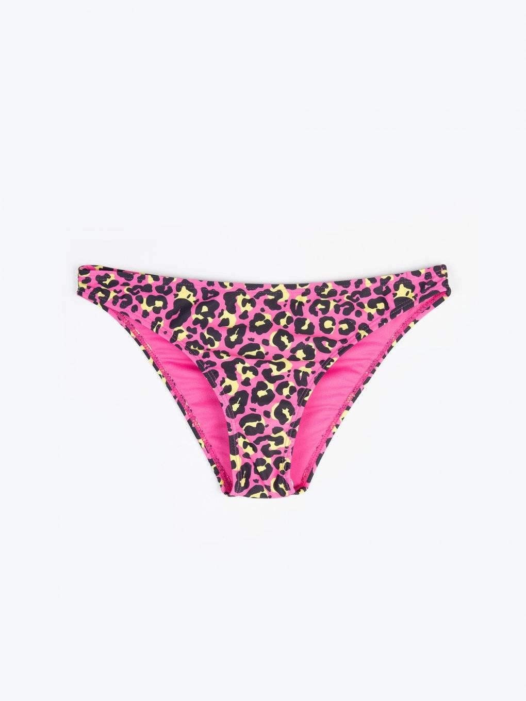 Animal print bikini bottom