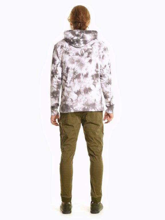 Tie dye hoodie