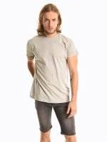 Basic regular fit short sleeve t-shirt
