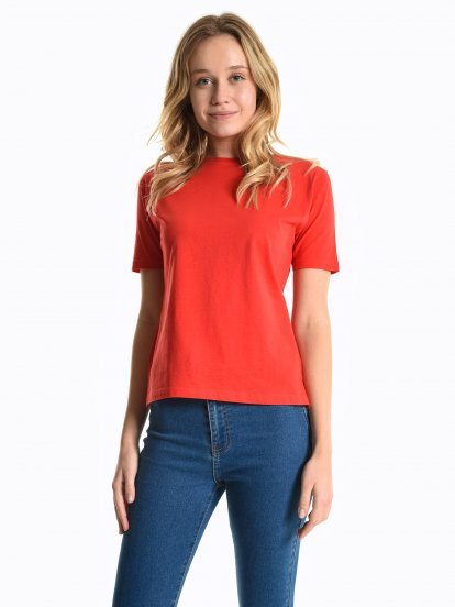Jednoduché tričko s krátkým rukávem