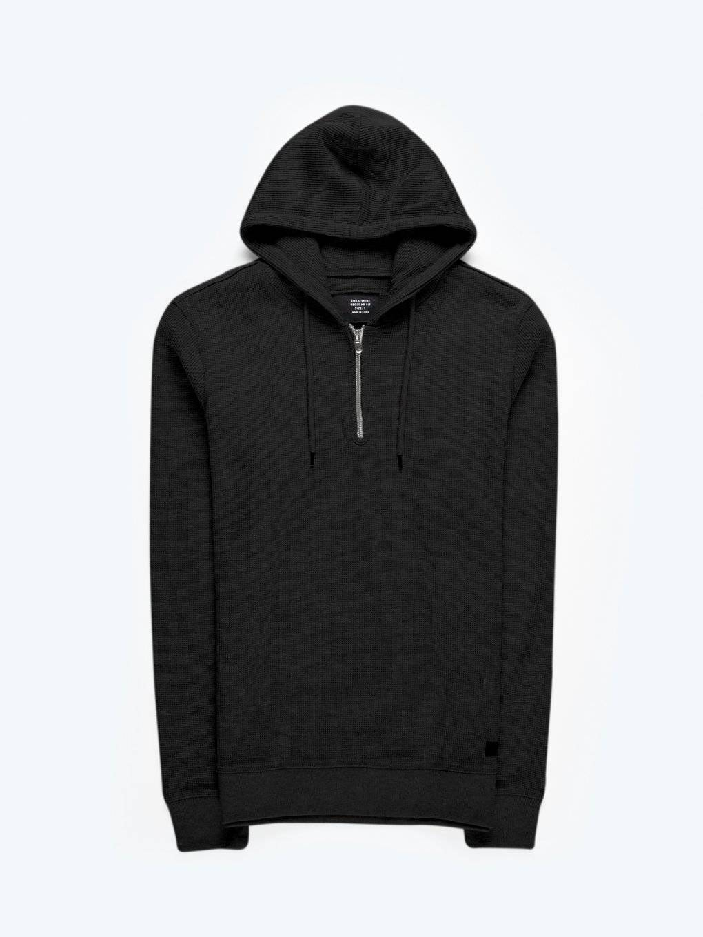 Structured hoodie