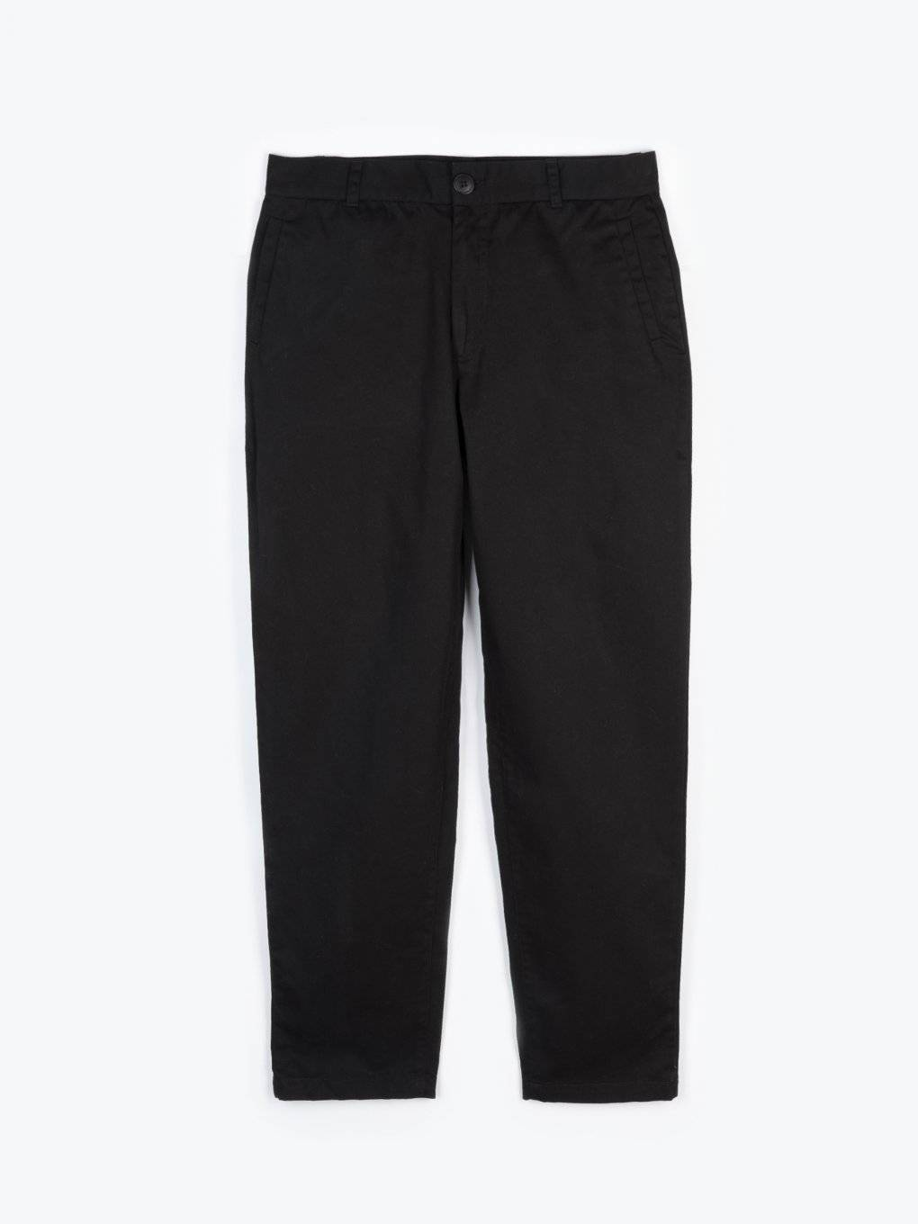 Basic cotton chino trousers