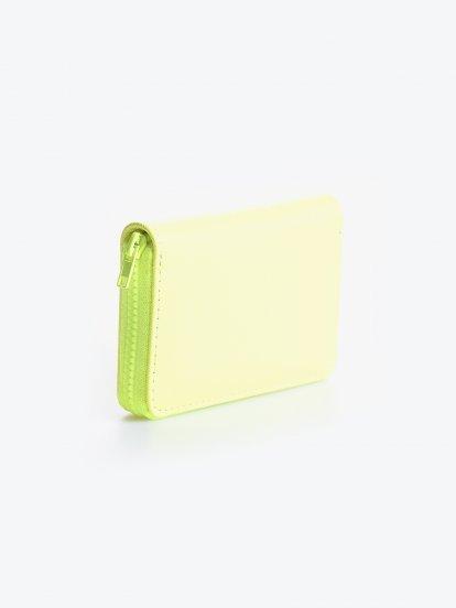 Neonowy portfel
