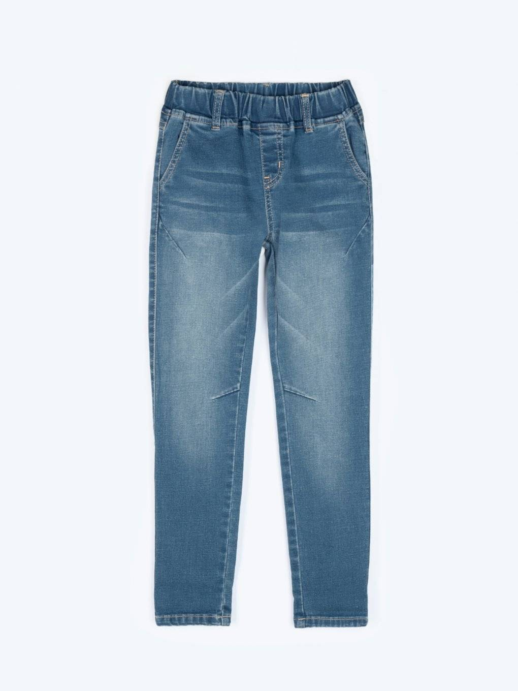 Comfy jeans with elastic waistband
