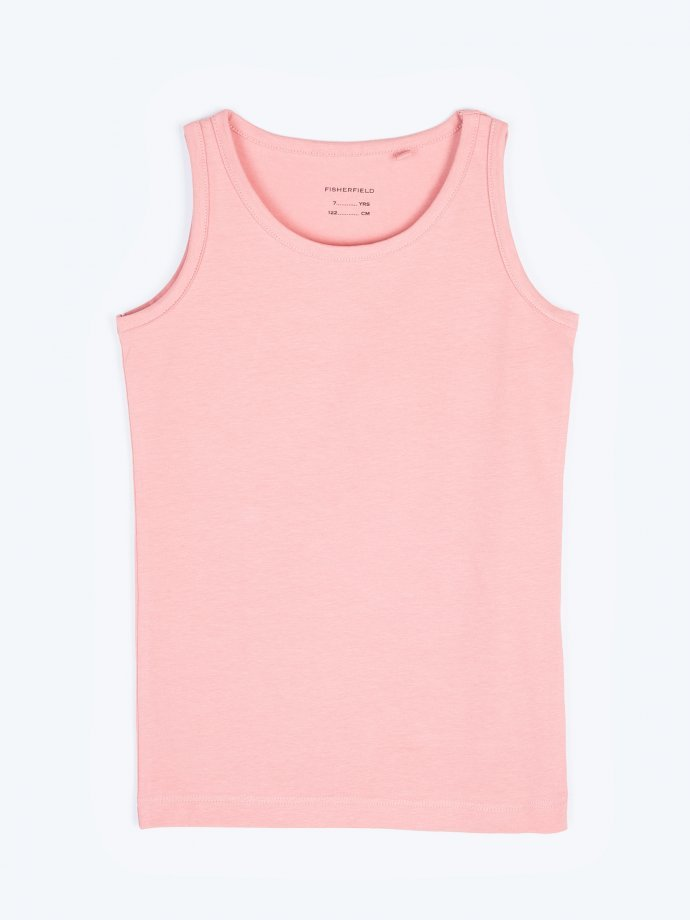 Basic stretchy tank top