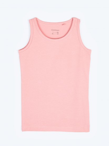 Basic stretchy tank top