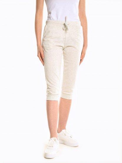 Basic 3/4 leg sweatpants
