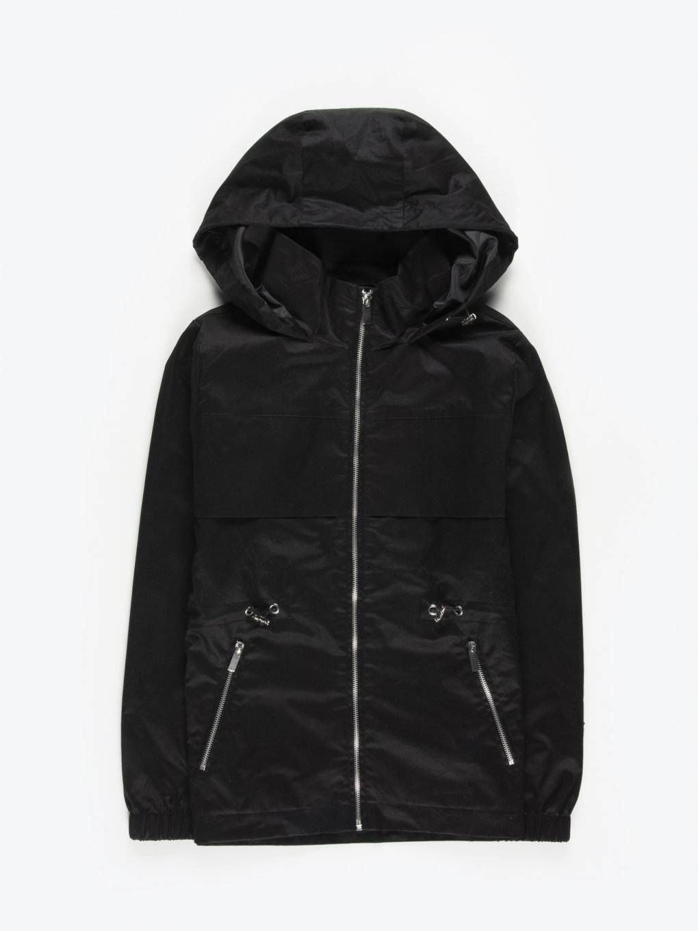 Hooded jacket