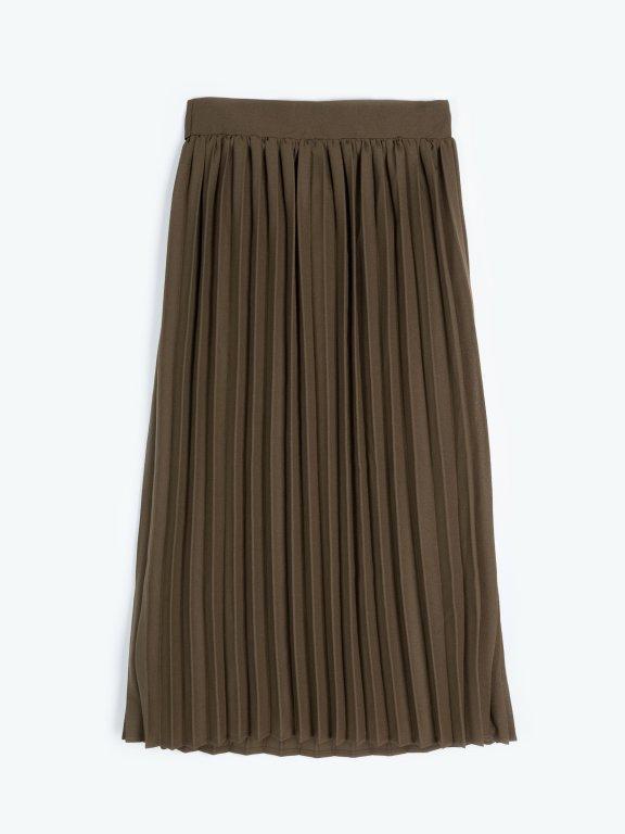 Skladaná sukňa