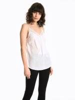 Cami top with lace