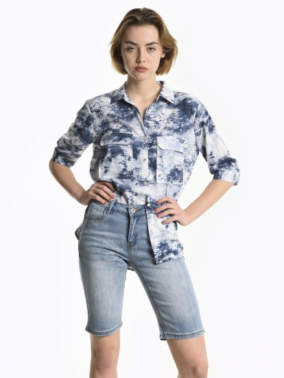 Tie dye blouse
