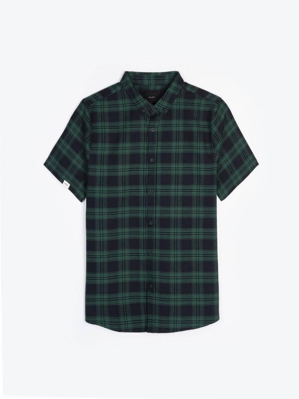 Bawełniana koszulka w kratę