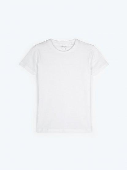 Basic short sleeve jersey t-shirt