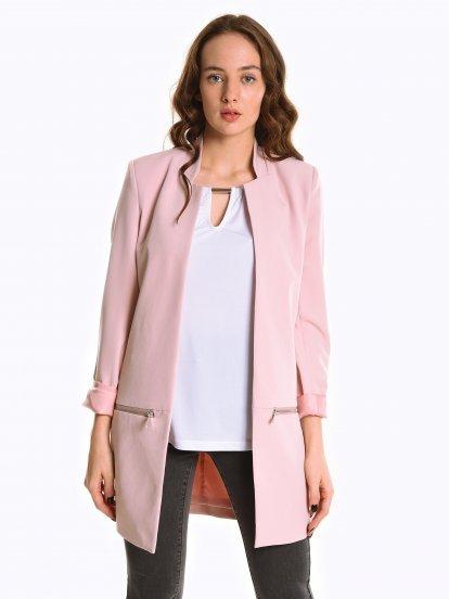 Prolonged blazer